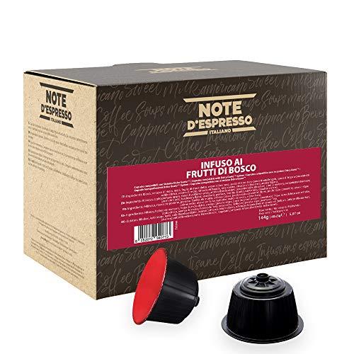Note D'Espresso Infuso ai Frutti di Bosco in Capsule Compatibili con Sistema Dolce Gusto 144 g, 48 x 3 g