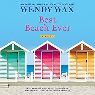 Best Beach Ever audiobook cover art