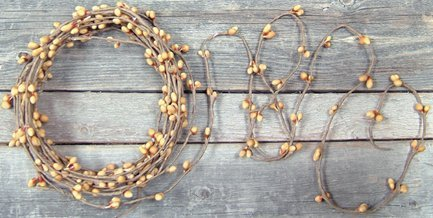 Pip Garland Old Gold 18 Ft 18' All Gold Long Stem