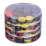 60 cintas para el sudor para cañas de pesca, bádminton, empuñaduras de tirachinas, raqueta de...