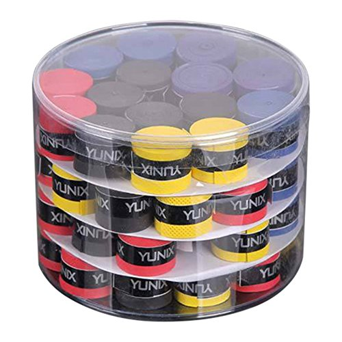 Cutogain 60 cintas para el sudor para cañas de pescar, bádminton Grips Slingshot Tennis Racket Dumbbell