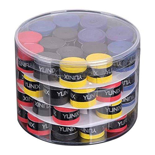 Cutogain 60 cintas para la pesca Cañas de bádminton Grips Slingshot tenis raqueta mancuernas