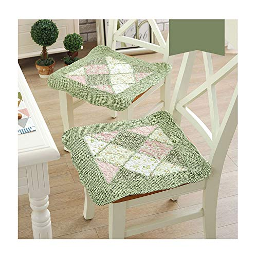FTL&HONG Seat Pads Chair Lounge Chair Cushions Thicken Lengthen Folding Wicker Chair Pads Patio Furniture Overstuffed Bench cushionSuitable for All Kinds of Scenes(45x45cm,50x50cm) Two-Piece Set