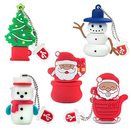 Clé USB de 16 Go Motif de Noël, Paquet...