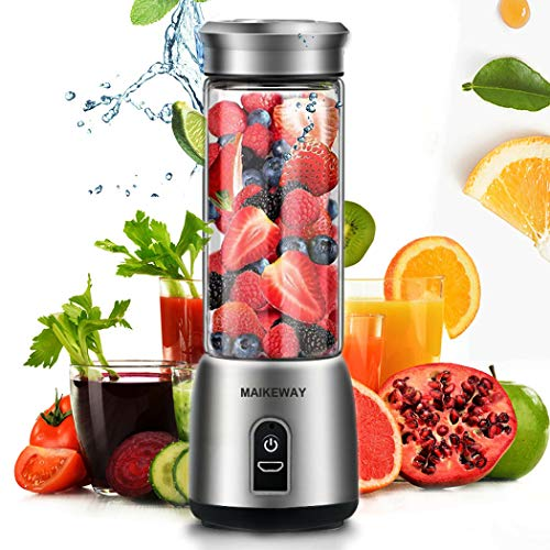 Portable Blender Small Juicer Stainless Steel w/ USB Rechargeable -$20.86(40% Off with code)