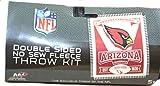 NFL Arizona Cardinals Double Sided No Sew Fleece Blanket Kit