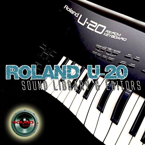 Roland U-20enorme y original de fábrica nueva biblioteca de sonido creado y editores en CD