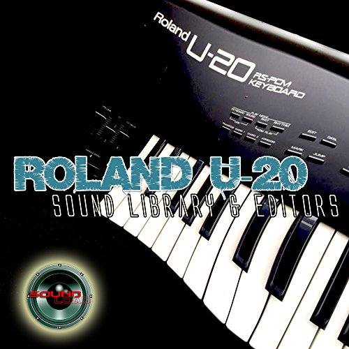 Save %29 Now! for ROLAND U-20 Huge Original Factory and NEW Created Sound Library & Editors on CD or...