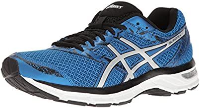 ASICS Men's Gel-Excite 4 Running Shoe, Classic Blue/Silver/Black, 10.5 M US
