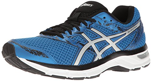 ASICS Men's Gel-Excite 4 Running Shoe, Classic Blue/Silver/Black, 9 M US