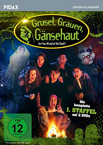 Grusel, Grauen, Gänsehaut, Staffel 1 (Are you Afraid of the Dark?) / Die komplette 1. Staffel der beliebten Mysteryserie (Pidax Serien-Klassiker) [2 DVDs]