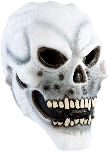 infactory Maske: Totenkopfmaske aus Latex (Karneval-Masken)