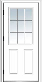 right hand outswing door
