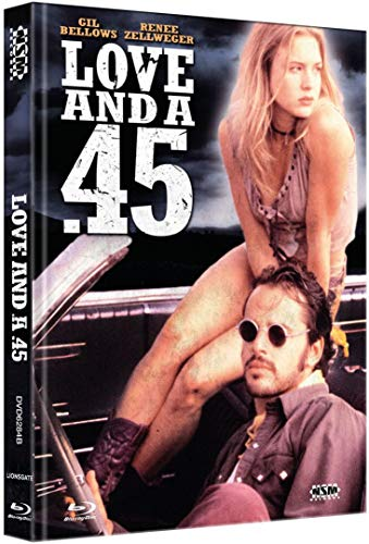 Love And A.45 - Gil Bellows - Renee Zellweger - Limited Mediabook - DVD - Blu-ray