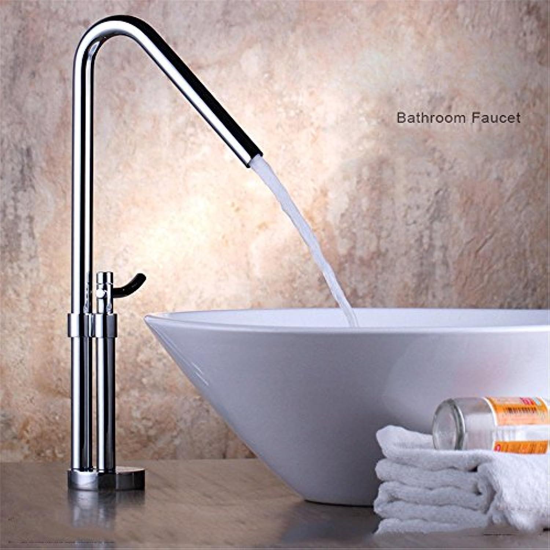 MNLMJ Moderne einfacheKupfer hei und kalt Wasserhhne Küchenarmatur Stilvolle Küche High-End-Wasserhahn erhht über Gegenbecken Becken heies und kaltes Wasser Wasserhahn Geeignet für Badezimmer