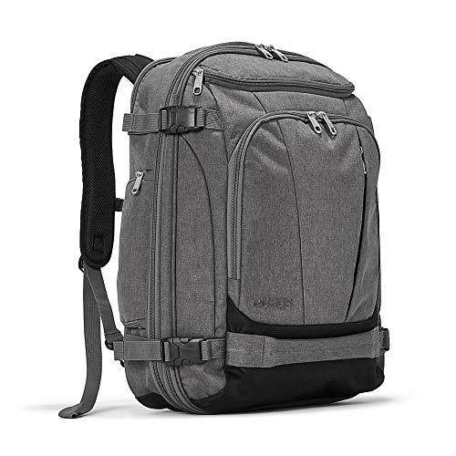 eBags TLS Mother Lode Weekender Junior 19' Carry-On Travel Backpack - Fits Up to 17.5' Laptop - (Heathered Graphite)