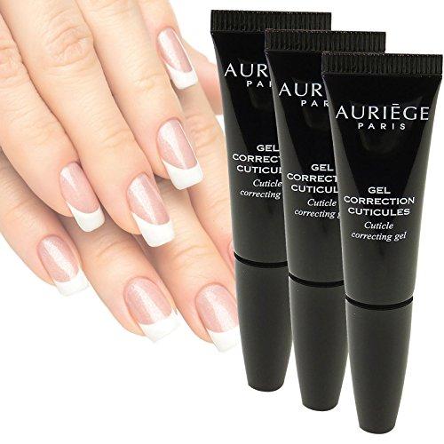Auriège Paris Gel Correction Cuticules - Soin Main Manucure - MULTIPACK 3x5ml