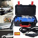 Nettoyeur haute pression pour voiture - 1400 W - Nettoyeur vapeur à main - 220 V - 3-5 bar