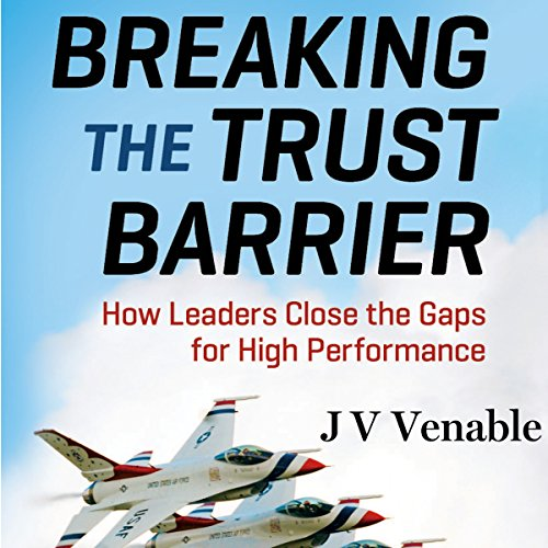 Breaking the Trust Barrier audiobook cover art