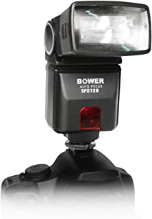 Bower 636980504124 Digital Autofocus Flash for Canon EOS 7D, 5D, 60D, 50D, Rebel T3, T3i, T2i, T1i, XS Digital SLR Cameras...