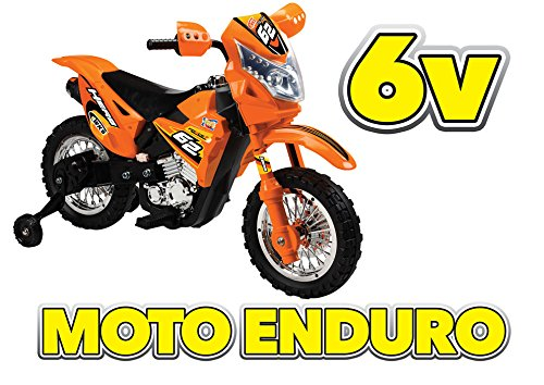 Moto Enduro 6v Arancio GV-5222