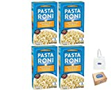 Pasta Roni Fettuccine Alfredo, 4.7 oz, Pack of 4, (Bay Area Marketplace Tote Bag included with...