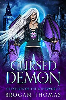 Book cover image for Cursed Demon (Creatures of the Otherworld)