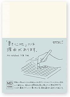 ミドリ ノート MDノート 文庫  方眼罫 15001006