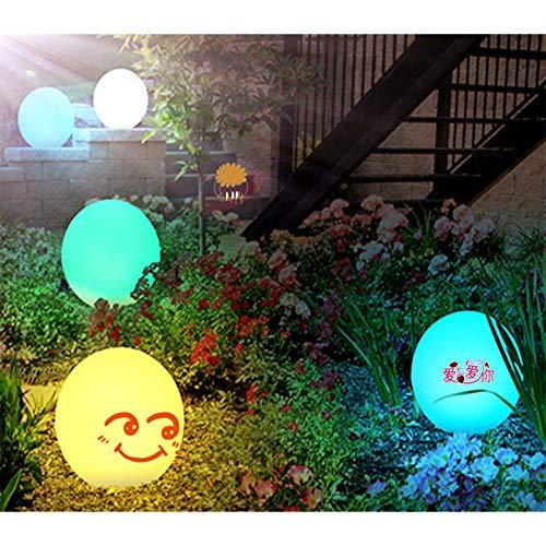 Maijia Schwimmende Pool-Lichter, bunte LED-Strandball-Licht, leuchtende Strand-Ball, wasserdichte LED-Kugel-Lampe für Schwimmbad, Party, Strand