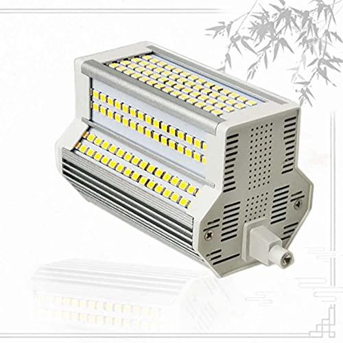 Bulbs Luz Regulable 50w LED R7S 118 mm R7S J118 reemplace la lámpara halógena de 500W AC110-240V Proyector Exterior de Doble Extremo 3000-6000K