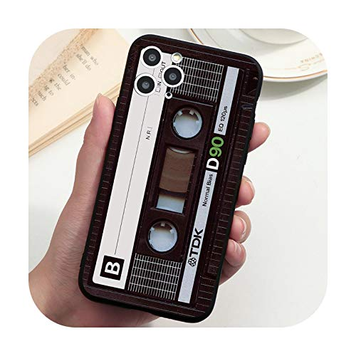 Funda vintage con cinta de cassette para Samsung S21 S20 FE Note 20 Ultra 10 8 9 S10 S9 S8 A6 Plus A7 A8 A9 A5 2018 2017 S10e Cover-cidai90-A6 Plus 2018