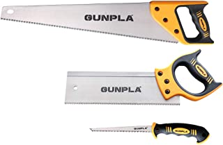 Gunpla Pro Hand Saw Perfect For Sawing,Trimming, Gardening, Pruning & Cutting Wood, Drywall, Plastic Pipes & More