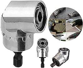 Adaptateur /à douille /à 3/pans 105/degr/és Angle droit perceuse 1//10,2/cm hexagonale magn/étique Bits Tournevis /à douille Holder Adapter