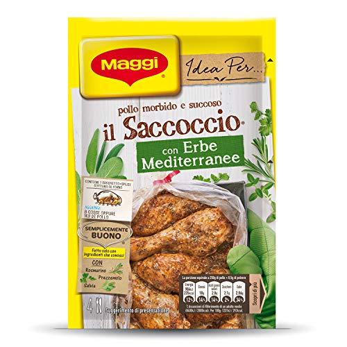 Maggi Idea per Il Saccoccio con Erbe Mediterranee, 34g