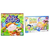 Hasbro Hi Ho! Cherry-O Board Game for 2 to 4 Players Kids Ages 3 and Up (Amazon Exclusive) & Chutes and Ladders Board Game for 2 to 4 Players Kids Ages 3 and Up (Amazon Exclusive)