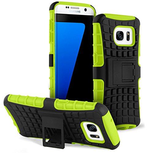 United Case Astuccio da 2 Pezzi con Cavalletto per Samsung Galaxy S7 Edge   Custodia