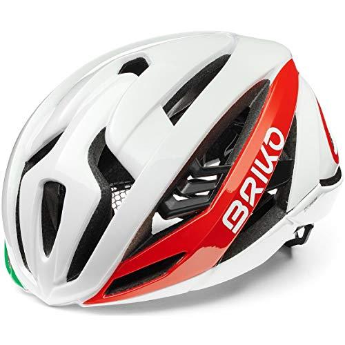Briko Quasar Casco Ciclismo, Adulti, Unisex, Italy, Large