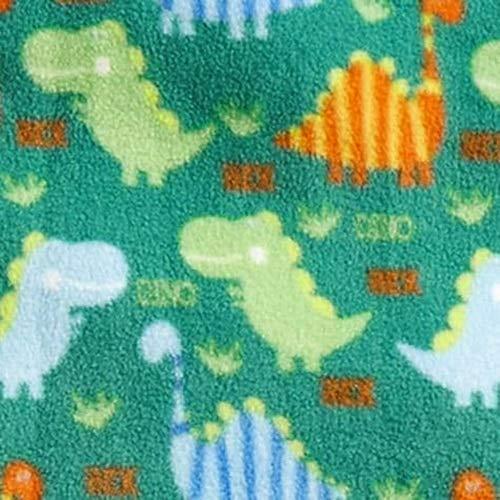 Shopko Cozy Printed Fleece Throw Blanket - Assorted Designs & Colors (Dinosaur)