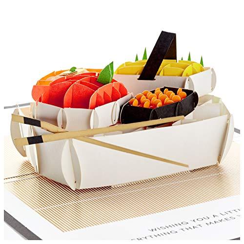 Hallmark Signature Paper Wonder Pop Up Geburtstagskarte (Sushi, Everything That Makes You Happy)