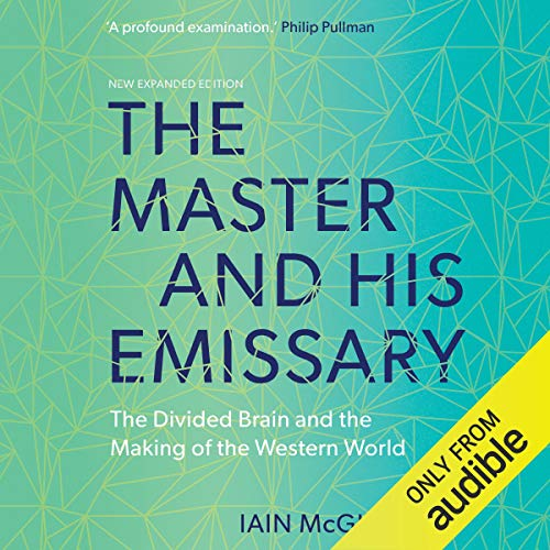The Master and His Emissary audiobook cover art