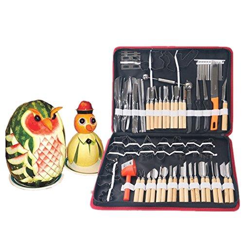 Vegetable Fruit Food Peeling Carving Tools Kit Culinary Carving Tool Set for Fruit/vegetable Garnishing Making