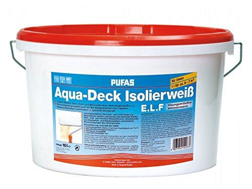 PUFAS Aqua-Deck Isolierweiß E.L.F. 10 Liter
