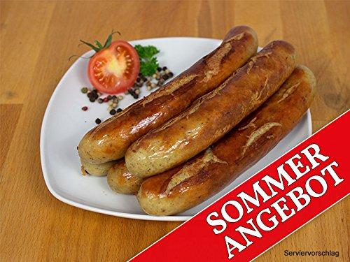 Sommerangebot/Rostbratwurst 20x100g - Bratwurst/Grillwurst ideal für Grill und Pfanne - Original...