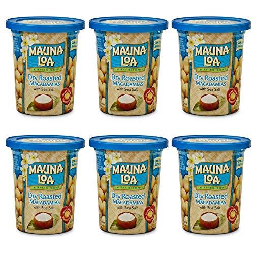 [セット品]マウナロア 塩味マカデミアナッツ 113g×6缶セット ハワイアンホーストジャパン