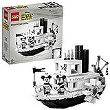 LEGO Ideas - El Botero Willie, Juego de Construcción del Barco Clásico de...