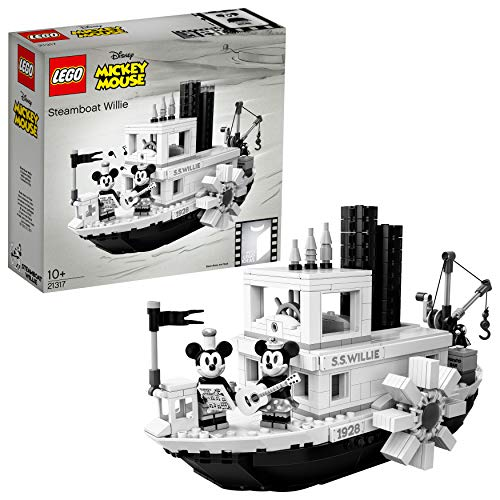 LEGO 21317 Ideas Disney Steamboat Willie Vintage Sammlermodell