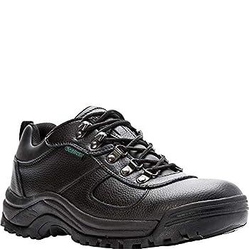 Propet Mens Cliff Walker Low Walking Casual Shoes Black 15