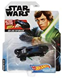 Hot Wheels Star Wars Jedi Luke Skywalker Action Feature Series Character Cars