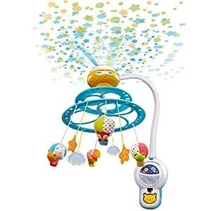 VTech 80-181022 Baby Noche Estrellitas - Proyector Móvil para Bebé, con Luces y Sonidos Relajantes, Lámpara/Módulo extraíble, Mando a Distancia y Temporizador