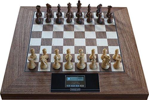 Exklusiver Schachcomputer aus Holz, Pewatronic Grandmaster (ohne Powerbank)